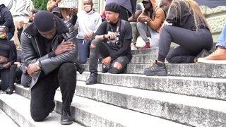 Plus de 2000 personnes manifestent à Lausanne contre le racisme