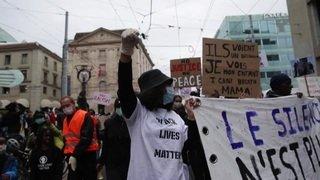 Genève: plus de 10'000 manifestants contre le racisme