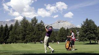 En Valais, le grand public découvre le golf