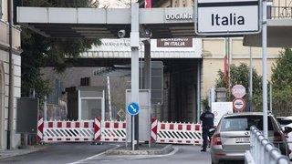 Coronavirus: pas de réouverture des frontières avec l'Italie