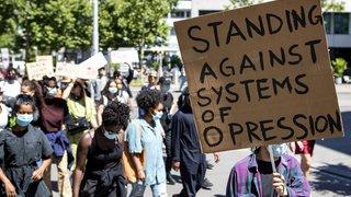 Zurich: plus d'un millier de personnes ont manifesté contre le racisme