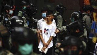 Manifestants arrêtés