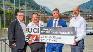 Cyclisme: les Mondiaux Aigle-Martigny ont obtenu les garanties nécessaires