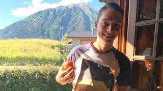 Cyclisme: Simon Pellaud a retrouvé la Suisse après trois jours de voyage en voiture, en avion et en train