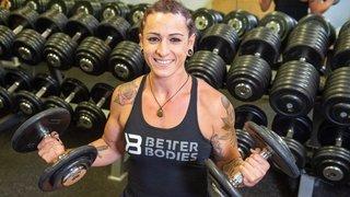 Perrine Maeder, un mental d'acier dans un corps sculpté