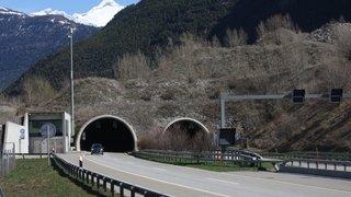 Haut-Valais: le tunnel de Gamsen sera fermé pendant deux jours