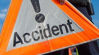 Accident à Aproz: une personne blessée