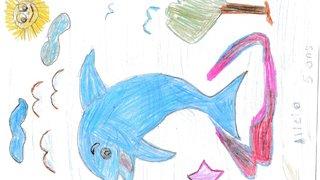 Alicia, 5 ans - Collombey