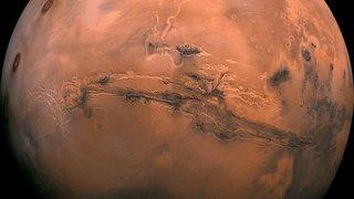 Des éruptions de boue ont pu surgir du sous-sol martien