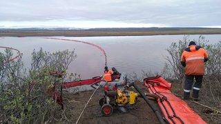 Russie: la progression de la marée noire dans l'Arctique a été «stoppée»