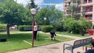 """""""La parole dansée"""" par Olivia Seigne et Nicolas Turicchia"""