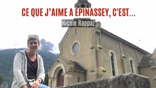 «Ce que j'aime à Epinassey, c'est…»