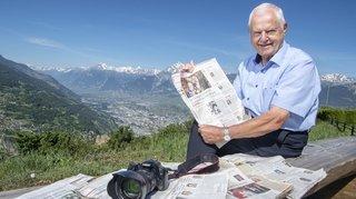 Charly Arbellay: le porte-voix de 206 centenaires valaisans
