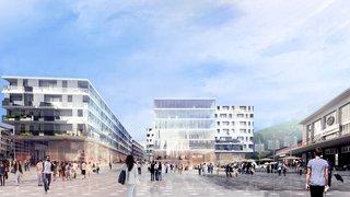 Sion: le projet Cour de Gare officiellement sur les rails