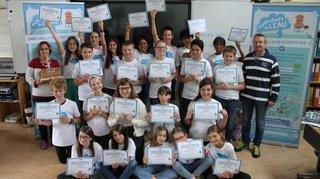 Grône: une classe primée pour son impact sur l'utilisation de l'eau