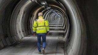 Après dix ans de travaux, la galerie de sécurité du tunnel du Grand-Saint-Bernard est opérationnelle