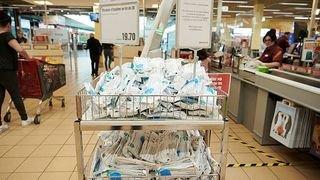 Valais: ruée sur les masques dans les commerces à proximité des gares