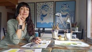 Ana Keim: «l'art nous fait nous transcender»
