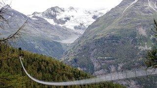 Passerelle de Randa: la plus longue du monde