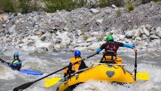 Valais: le rafting de nouveau autorisé entre La Souste et Chippis