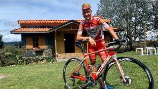 Cyclisme: la quête prioritaire de Simon Pellaud est de monter dans un avion