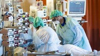 Coronavirus: production en continu d'un anesthésique à Vionnaz