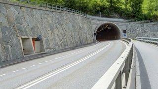 Ouvrages d'art: le tunnel du Stägjitschugge entre Stalden et St. Niklaus