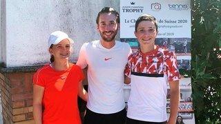 Tennis: sept Valaisans sortent des qualifications et se qualifient dans le grand tableau