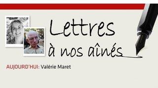 Coronavirus: la lettre aux aînées de Valérie Maret