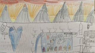 Violette, 7 ans - Némiaz