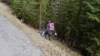 Les bénévoles vont nettoyer les sentiers de la station de La Tzoumaz