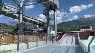 Sion: la piscine de la Blancherie poursuit sa mue
