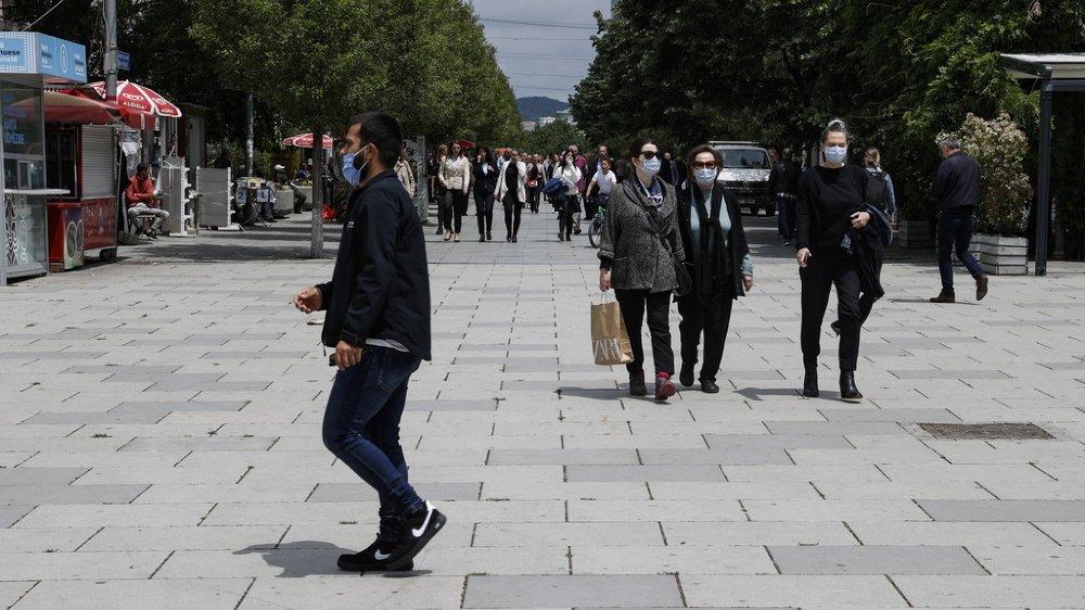 Les rues de Pristina ne devraient pas voir beaucoup de Valaisans des Balkans cet été. Le Kosovo fait partie des zones où le risque d'infection au coronavirus est élevé.