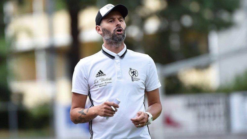 Ugo Raczynski, l'entraîneur du Martigny-Sports, et ses joueurs sont en quarantaine jusqu'au 7 août.