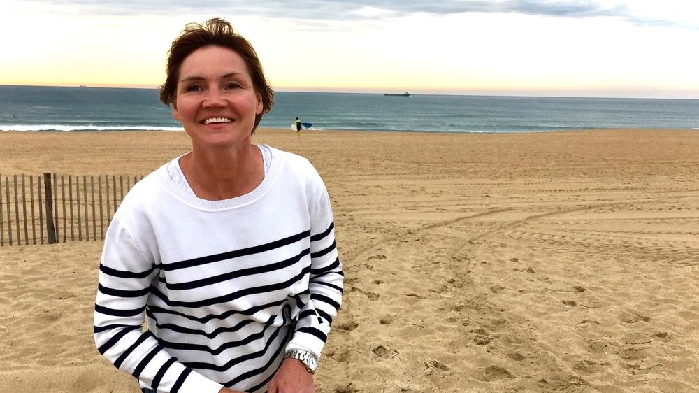 """""""Le lac, la mer, l'eau, mes vacances à Biarritz en 2015, l'été de mes 50 ans."""""""