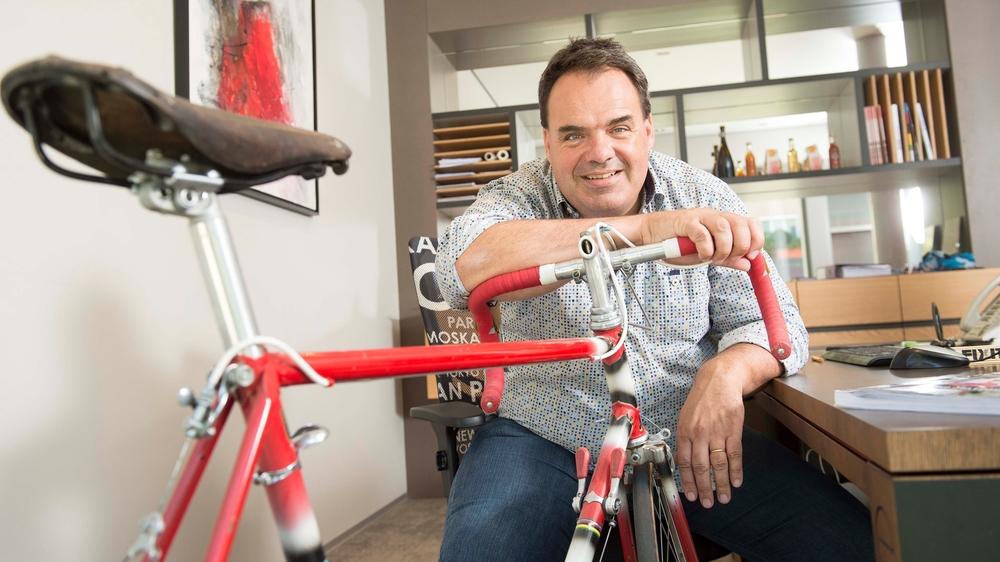 Alexandre Debons n'en a probablement pas fini avec le vélo. Il entend bien relancer la candidature.