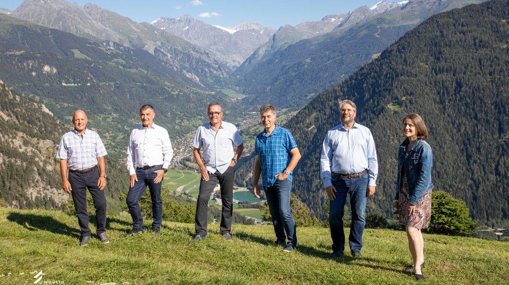 Les candidats PDC de la future commune fusionnée de Val de Bagnes.