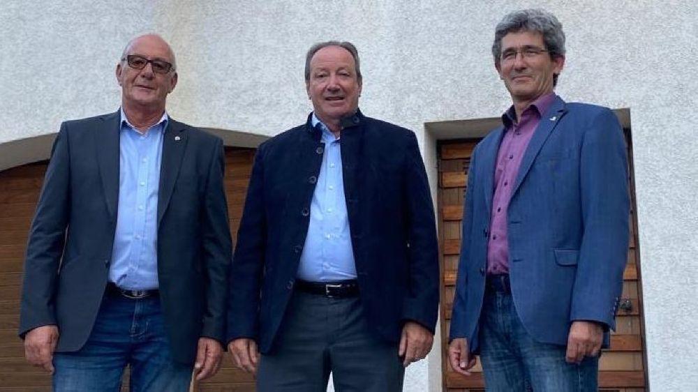 Les trois candidats de la section UDC de Crans-Montana