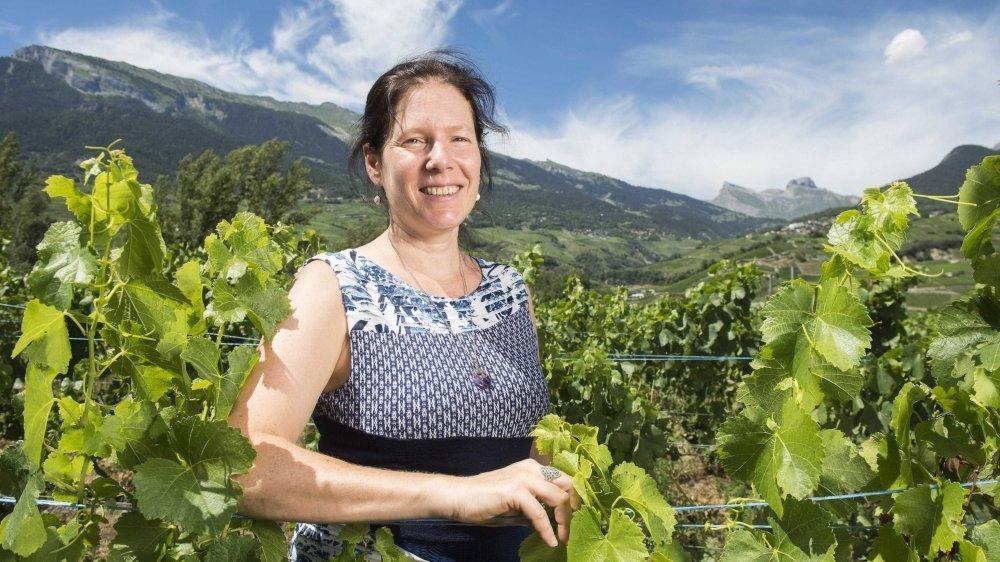 Karine Contat, première Valaisanne à accéder au comité de Bio Suisse.