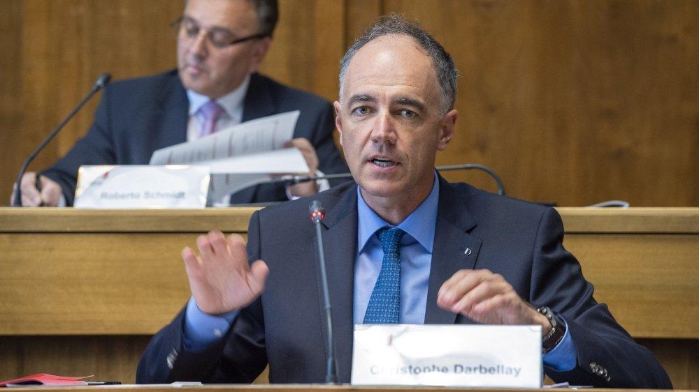 """""""Le Valais est très attractif et sait se réinventer."""" Président du gouvernement, Christophe Darbellay est satisfait du lancement de l'opération """"Tourisme valaisan""""."""