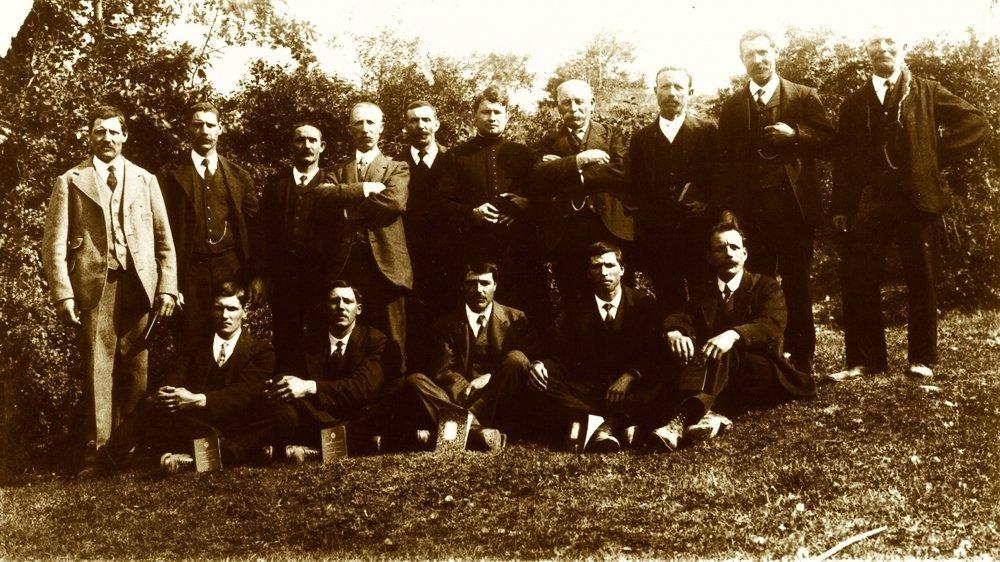 Le chœur d'hommes a été fondé en 1919.
