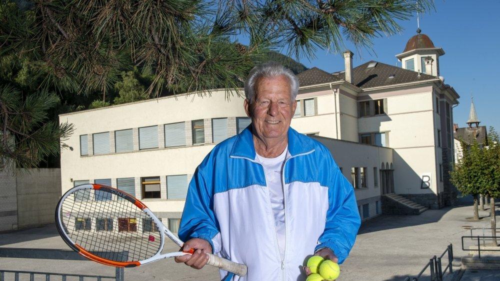 Felix Allegro, le père d'Yves, est à l'origine de la formation sports-études de Grône.