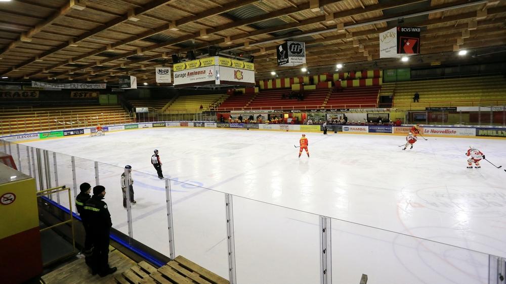 Si la patinoire de Graben ne peut pas accueillir son fidèle public, le HC Sierre pourrait perdre très gros.