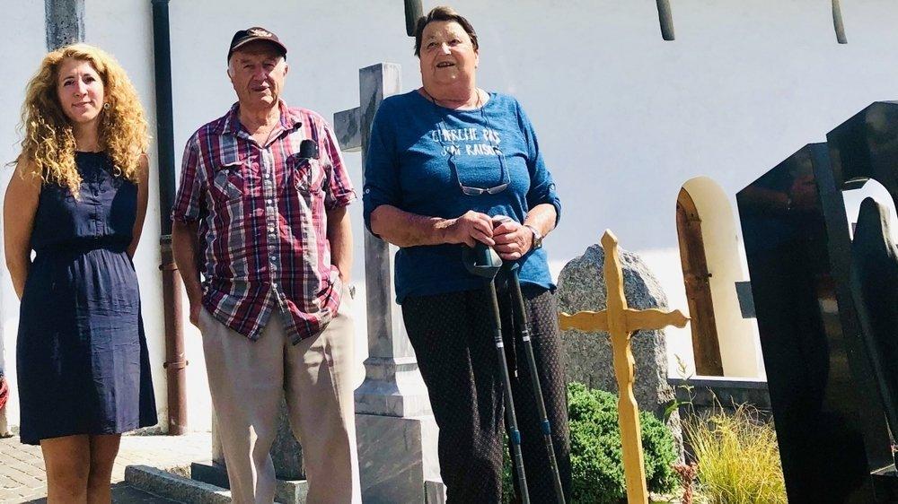 Caroline Tchanz-Branca, Adrien et Andrée Pitteloud vous racontent comment le curé de Vex fit un dernier voyage avant de trouver le paradis.