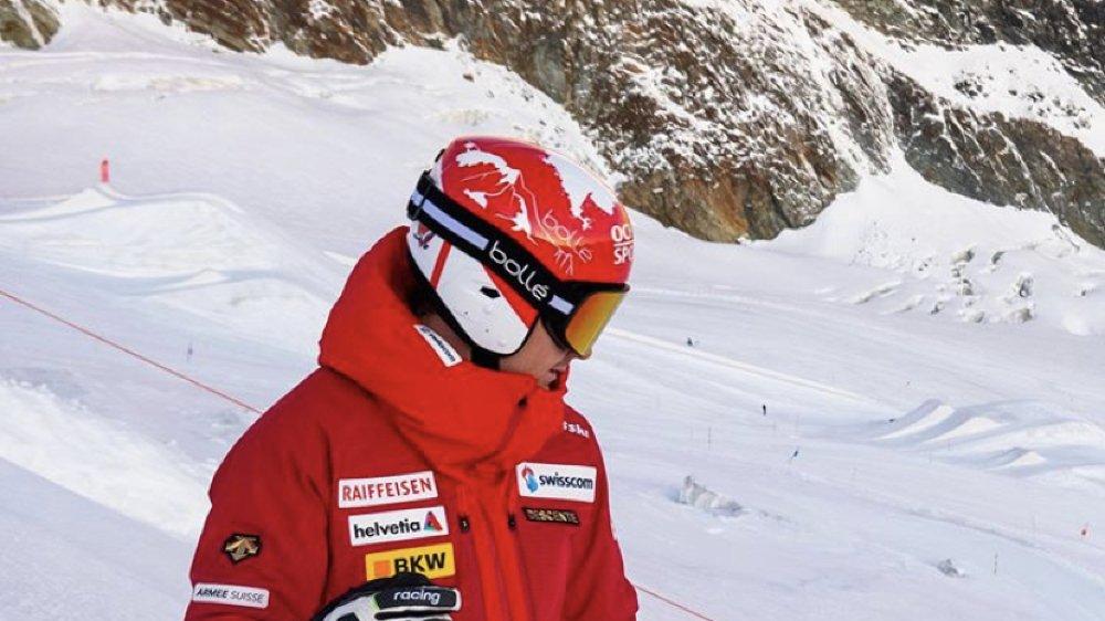 Loïc Meillard tourné vers la nouvelle saison.