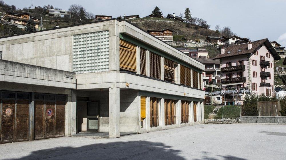 Le nouveau centre scolaire prendra place au même endroit que l'école actuelle.