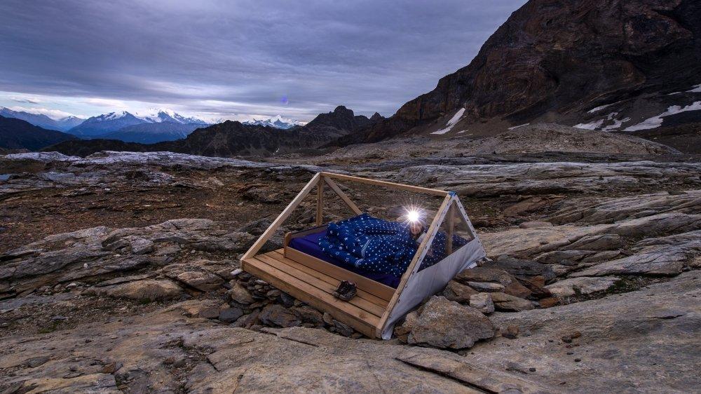 Pour vous parler tourisme insolite, on a fait dodo à la belle étoile, à 2690 mètres d'altitude.