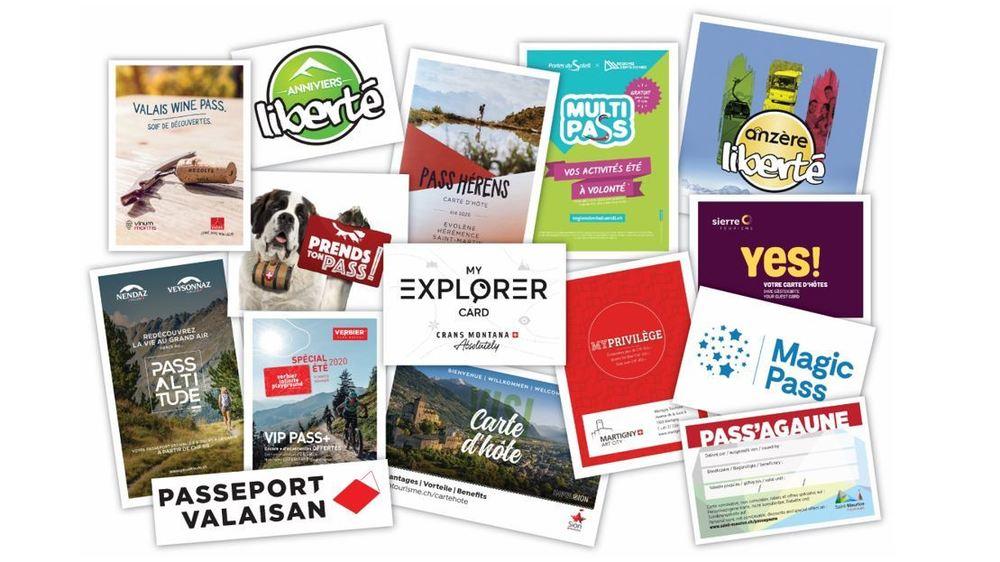 Les pass offrant des avantages auprès de prestataires touristiques foisonnent d'une destination à l'autre du canton.