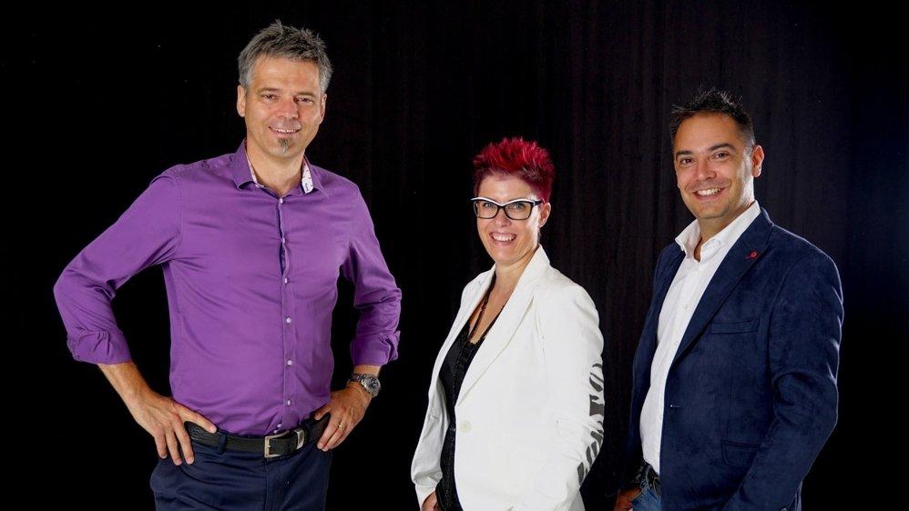 Alexis Turin, Magaly Ecœur et Manuel Doval cherchent à conquérir un deuxième siège à l'exécutif.