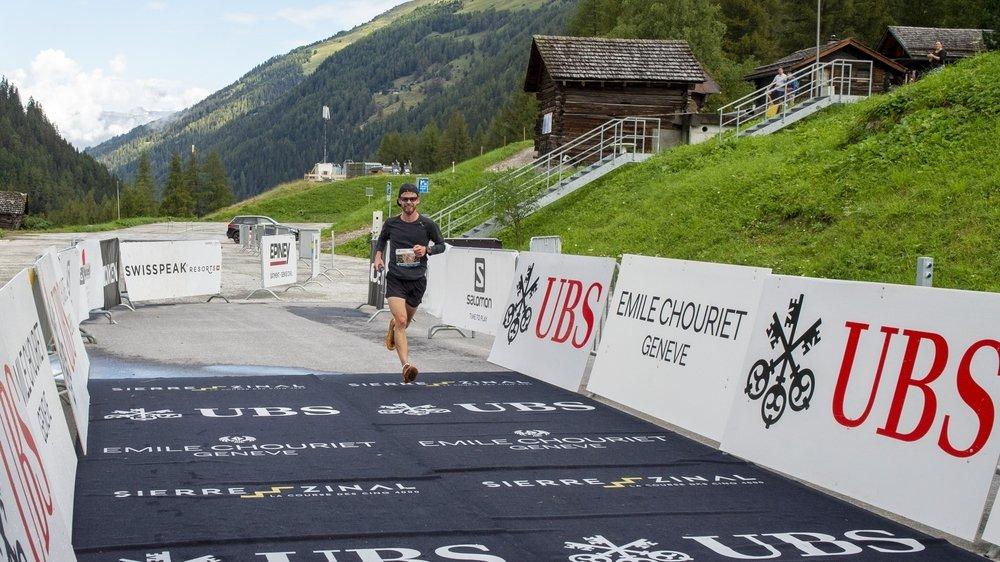 Laurens Dekeyser a été le premier à franchir la ligne d'arrivée de cette édition 2020 de Sierre-Zinal.